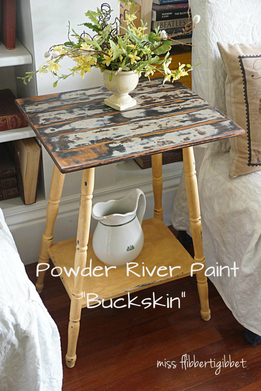Buckskin table 1