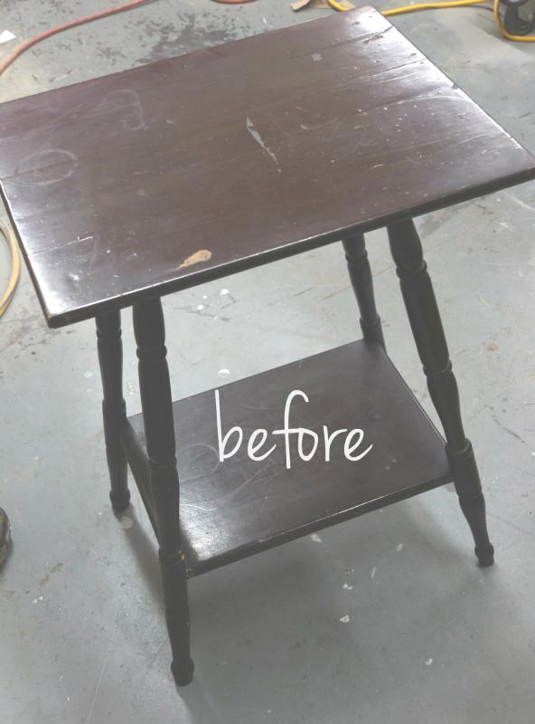 buckskin table before