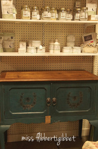 Milk Paint French Bee Cabinet