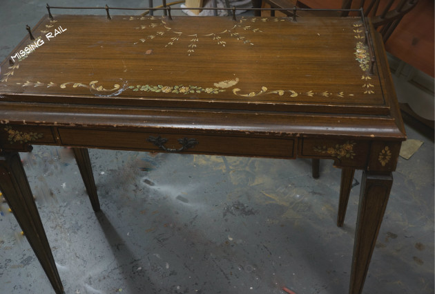 teton Desk before