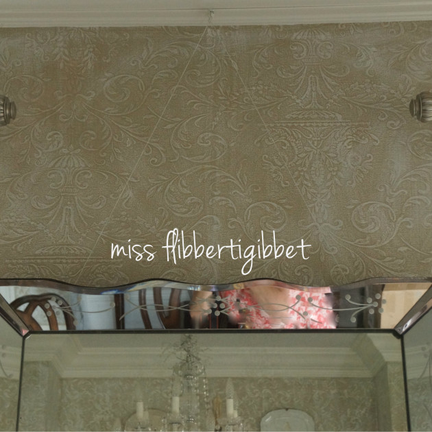 How to hang a heavy mirror miss flibbertigibbet for How hang heavy mirror