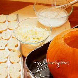 Pumpkin Au Gratin
