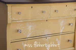 milk-painted-dandelion-chest 2